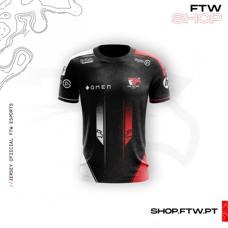 Jersey FTW Esports Black Edition