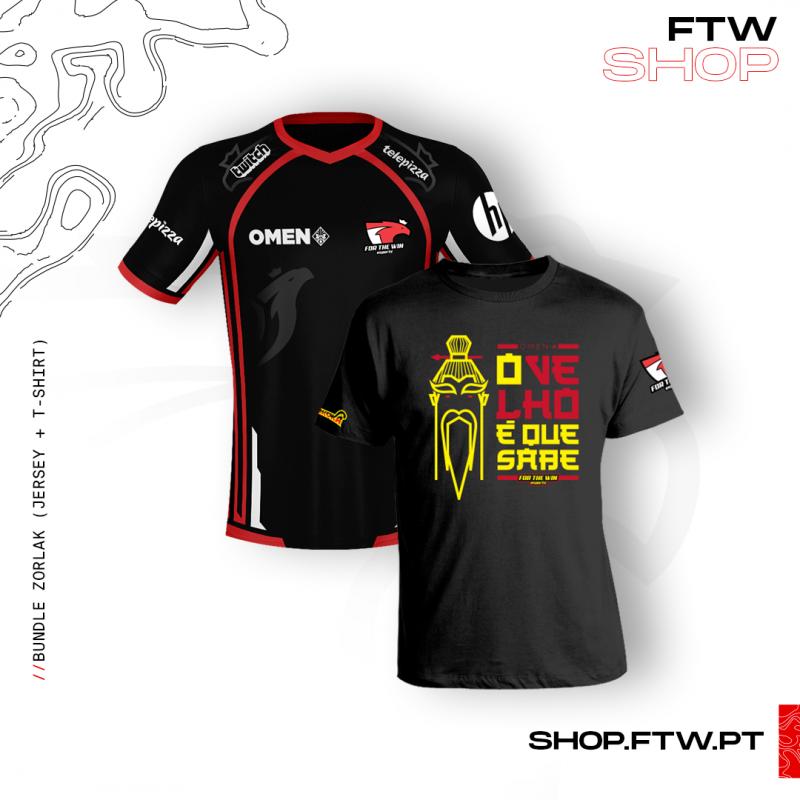 Jersey FTW + T-Shirt Zorlak - O Velho é que sabe!