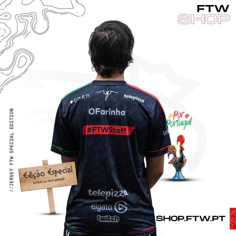 FTW Jersey Edição especial #PorPortugal + OFERTA